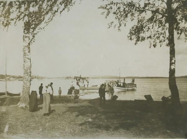 Anttolan satamaranta. Kuva Mikkelin kaupungin museoiden kuva-arkisto.